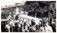 Feast of the Madonna di Cassandrino in Chambersburg, circa 1937