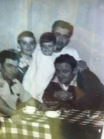 Gennaro Di Mattia, my dad Big Lew Di Mattia, Uncle Nick Di Mattia, Uncle Jim Di Mattia(as a boy) and cousin Nicky Di Mattia